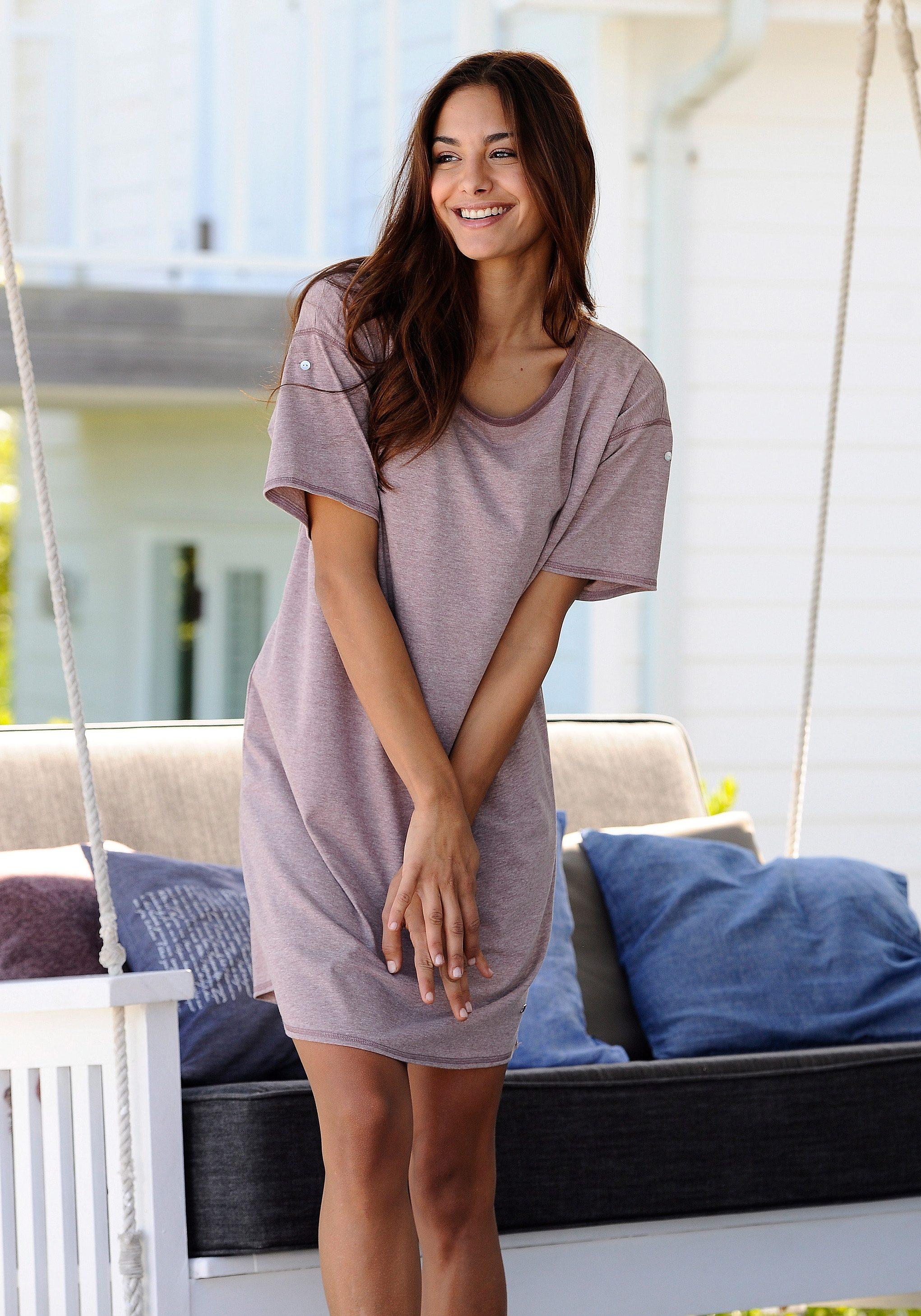 Arizona Sleepshirt | Bekleidung > Nachtwäsche > Sleepshirts | Lila | Arizona