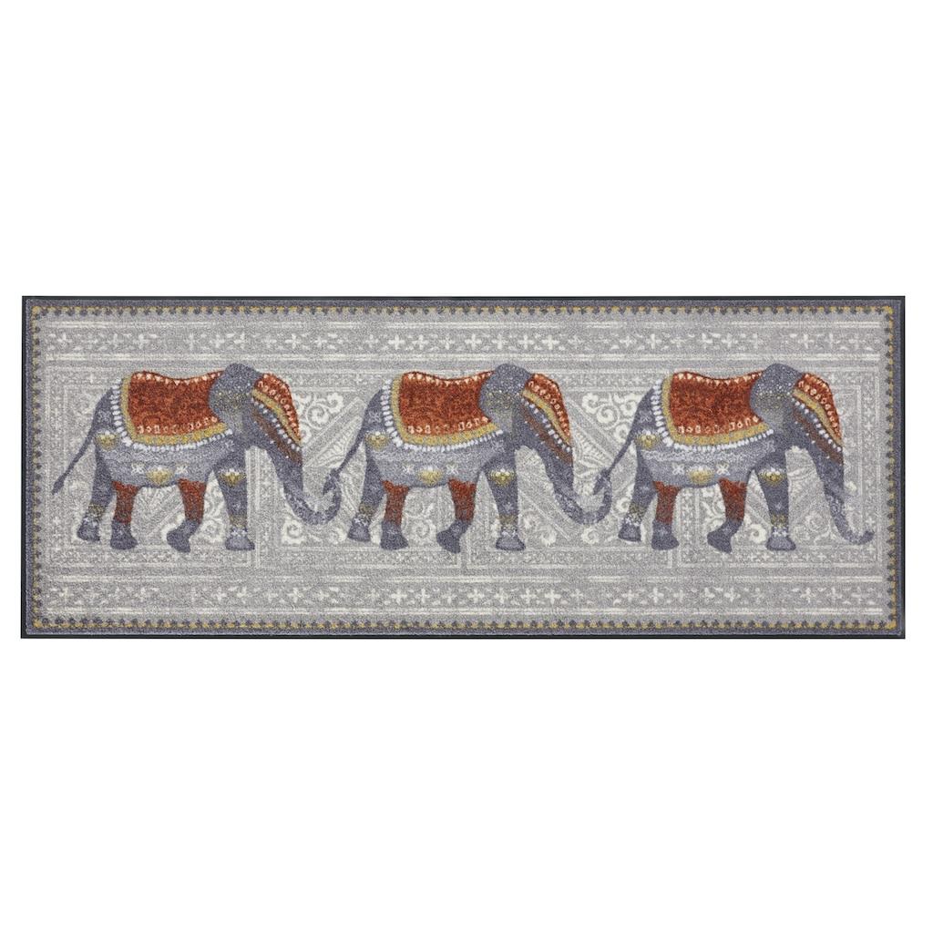 Fußmatte ELEFANTEN Elefant, waschbar