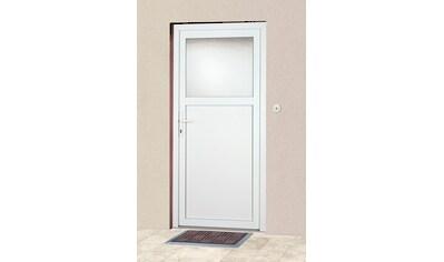 KM MEETH ZAUN GMBH Mehrzweck - Haustür »K601P«, BxH: 88x188 cm, weiß, in 2 Varianten kaufen