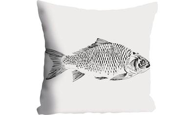 queence Kissenhülle »Dennis«, (1 St.), mit Fisch kaufen