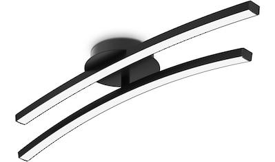 B.K.Licht Deckenleuchte, LED-Modul, 1 St., Warmweiß, 2-flammige 12W Deckenlampe,... kaufen