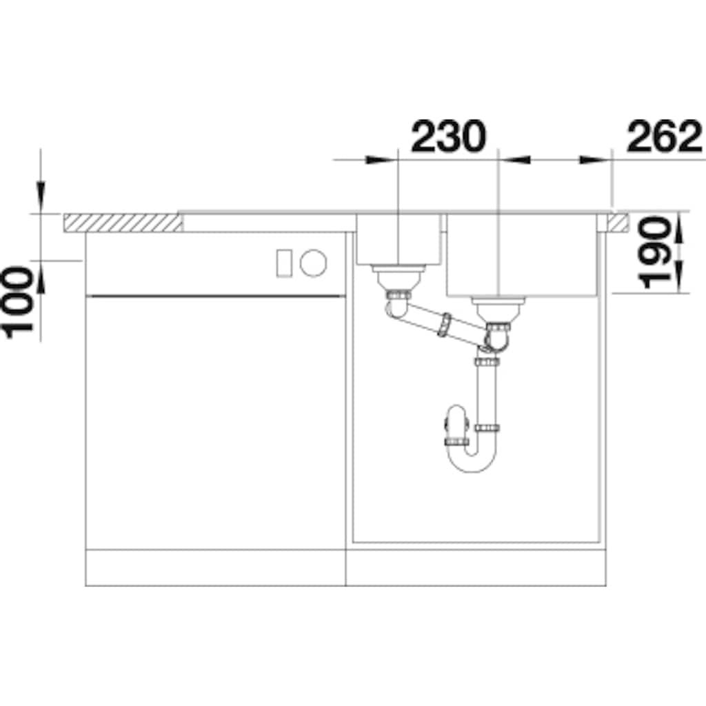 Blanco Granitspüle »CLASSIC Neo 6 S«, aus SILGRANIT®