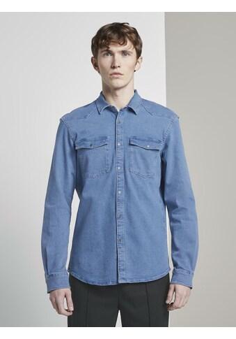 TOM TAILOR Denim Jeanshemd »Jeanshemd mit Brusttaschen« kaufen