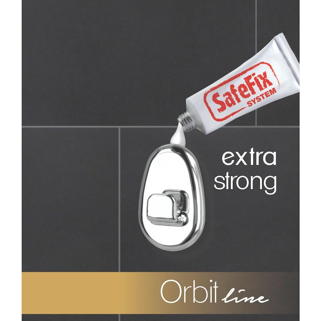 Metaltex Handtuchhaken »Orbit SafeFix«