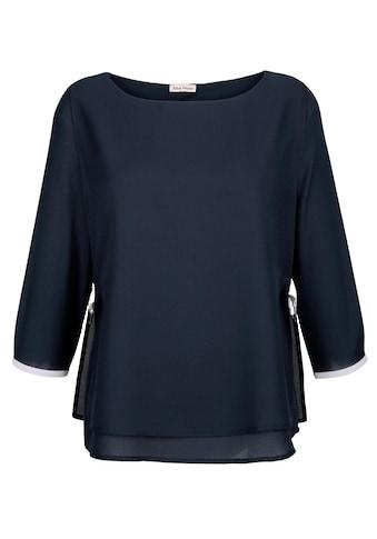 Alba Moda Bluse im modischen Lagenlook kaufen
