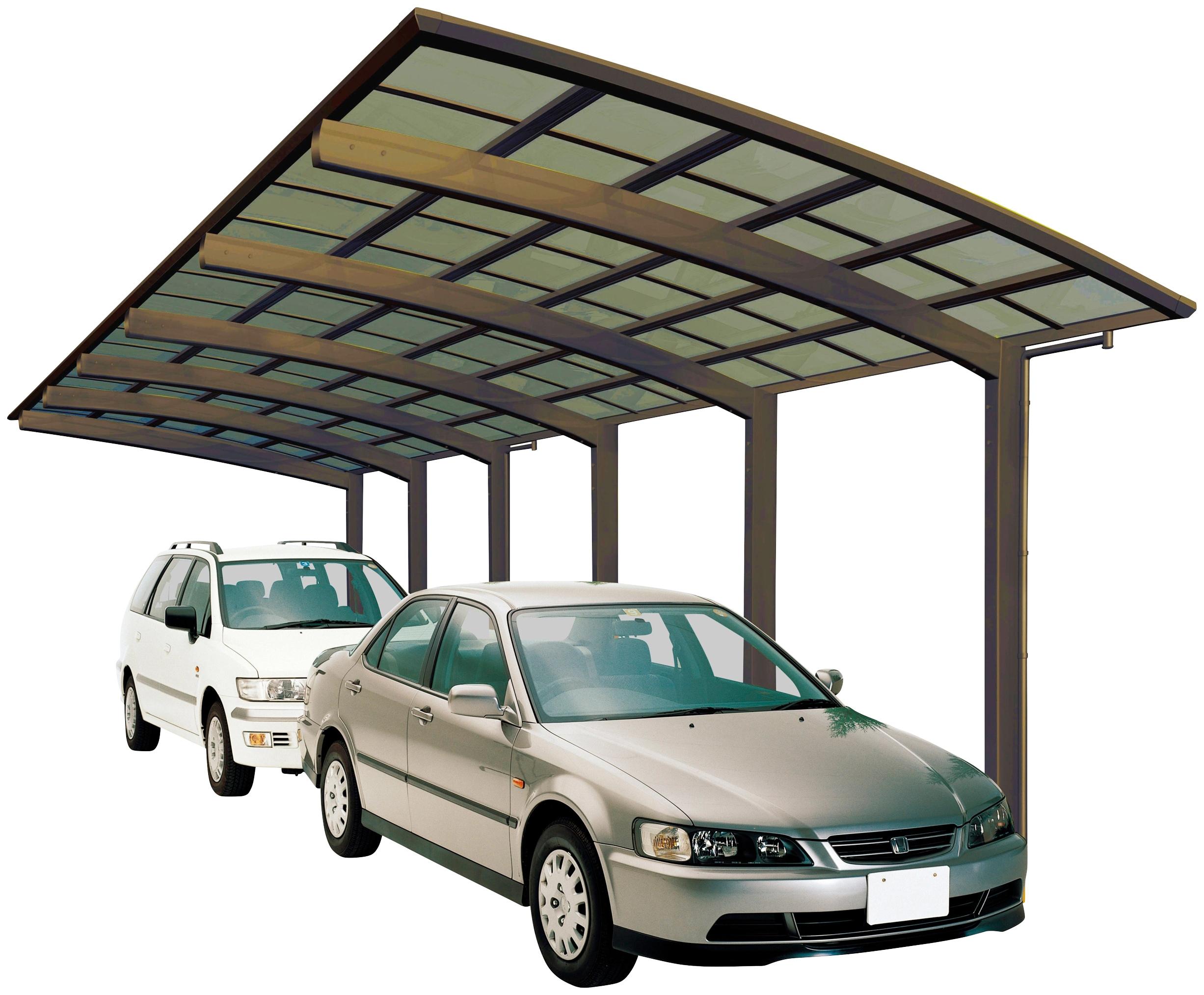 ximax doppelcarport portoforte typ 110 tandem bronze aluminium 254 cm bronze aluminium - HASE Pino Steps E6000 , HASE