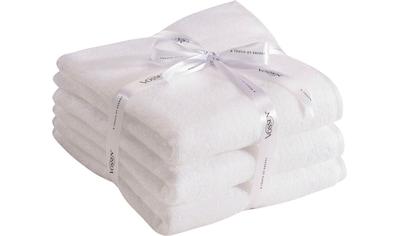 Vossen Handtücher »Smart Towel«, (3 St.), antibakteriell & schnelltrocknend kaufen