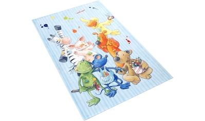 Kinderteppich, »LS - 211«, Die Lieben Sieben, rechteckig, Höhe 6 mm, gedruckt kaufen