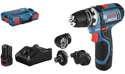Bosch Professional Akku-Bohrschrauber »GSR 12V-15«, inkl. 2 Akkus, Ladegerät, Koffer kaufen