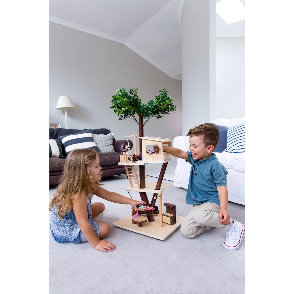 EverEarth® Puppenhaus »Baumhaus«, FSC®-Holz aus gewissenhaft bewirtschafteten Wäldern