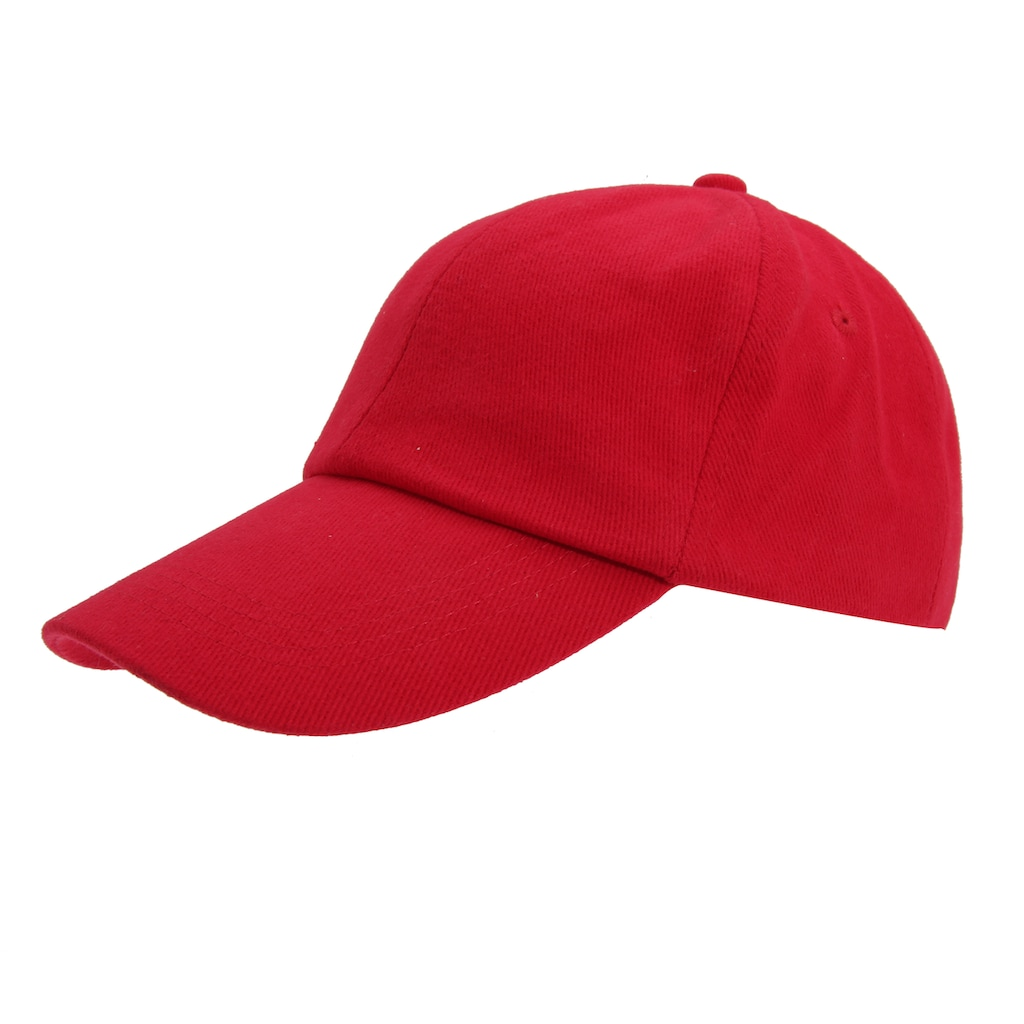 Result Baseball Cap »Kinder Baseball Kappe, einfarbig und aus Baumwolle (2 Stück/Packung)«