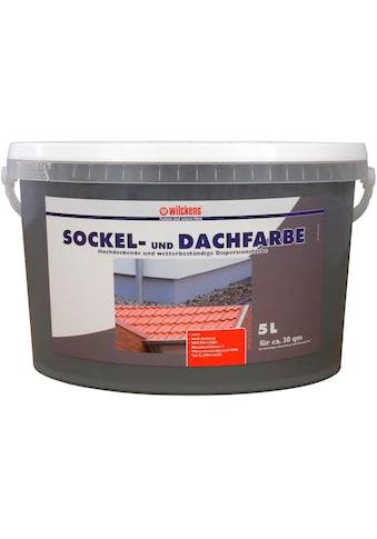 WILCKENS FARBEN Fassadenfarbe »Sockel - & Dachfarbe« kaufen