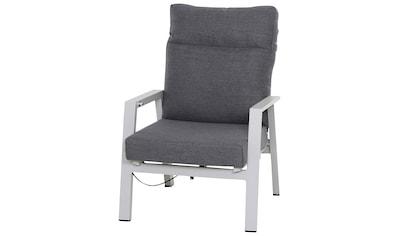 Siena Garden Loungesessel »Loungesessel Valen«, Aluminium, inkl. Auflagen kaufen