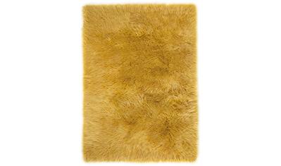 Fellteppich, »Ovium«, Andiamo, rechteckig, Höhe 60 mm, maschinell gewebt kaufen
