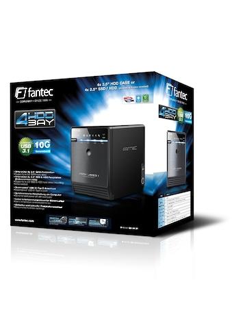 """FANTEC QB - 35U31 HDD Gehäuse »4x 3.5"""" HDD Gehäuse USB 3.1« kaufen"""