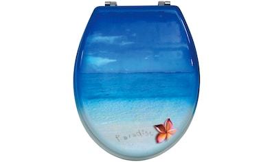 MSV WC-Sitz »PARADIES«, MDF-Kern kaufen