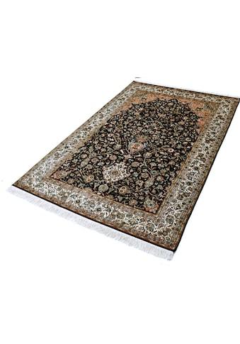 Seidenteppich, »T. Of Life 8245«, Kayoom, rechteckig, Höhe 10 mm, manuell geknüpft kaufen
