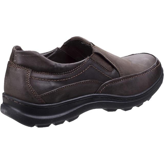Fleet & Foster Loafer »Herren Goa Leder Slip-On Schuhe«