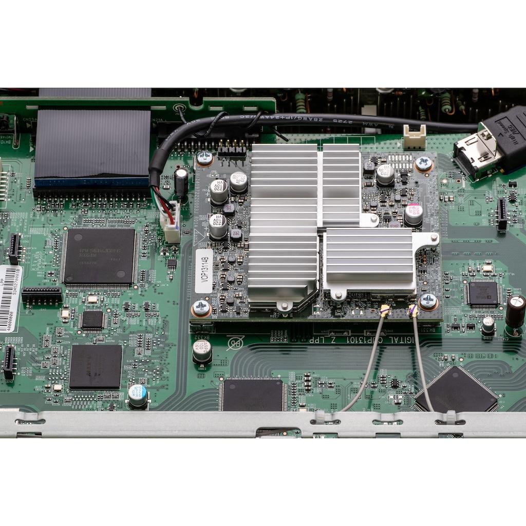 Denon AV-Receiver »AVCX4700 - 9-Kanal«, 9, (LAN (Ethernet)-WLAN-Bluetooth automatische Lautsprecherkalibrierung-USB-Mediaplayer-Video Upscaling-Sprachsteuerung), kabellose Multiroom-Musikstreaming-Technologie HEOS Built-in