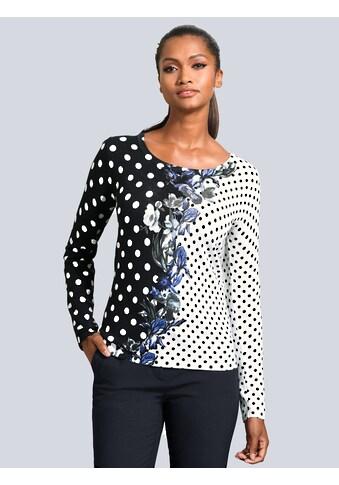 Alba Moda Pullover im Dessin - Mix kaufen