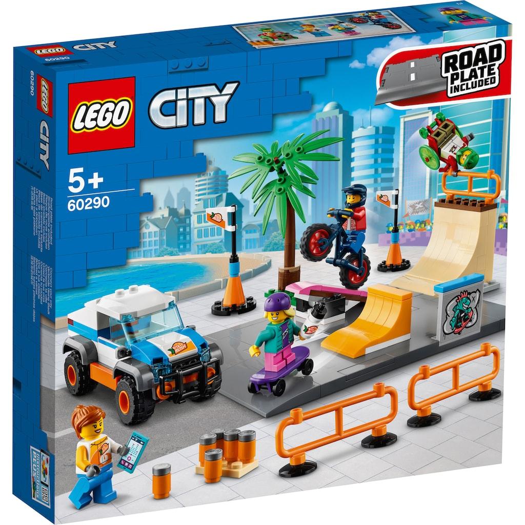 LEGO® Konstruktionsspielsteine »Skate Park (60290), LEGO® City Community«, (195 St.), Made in Europe