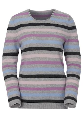 Casual Looks Pullover in exklusiver Kaschmir - Qualität kaufen