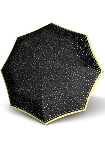 Knirps® Taschenregenschirm »X1, flakes black« kaufen