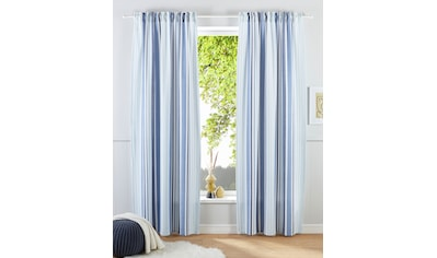 my home Gardine »Stripe«, Nachhaltig kaufen