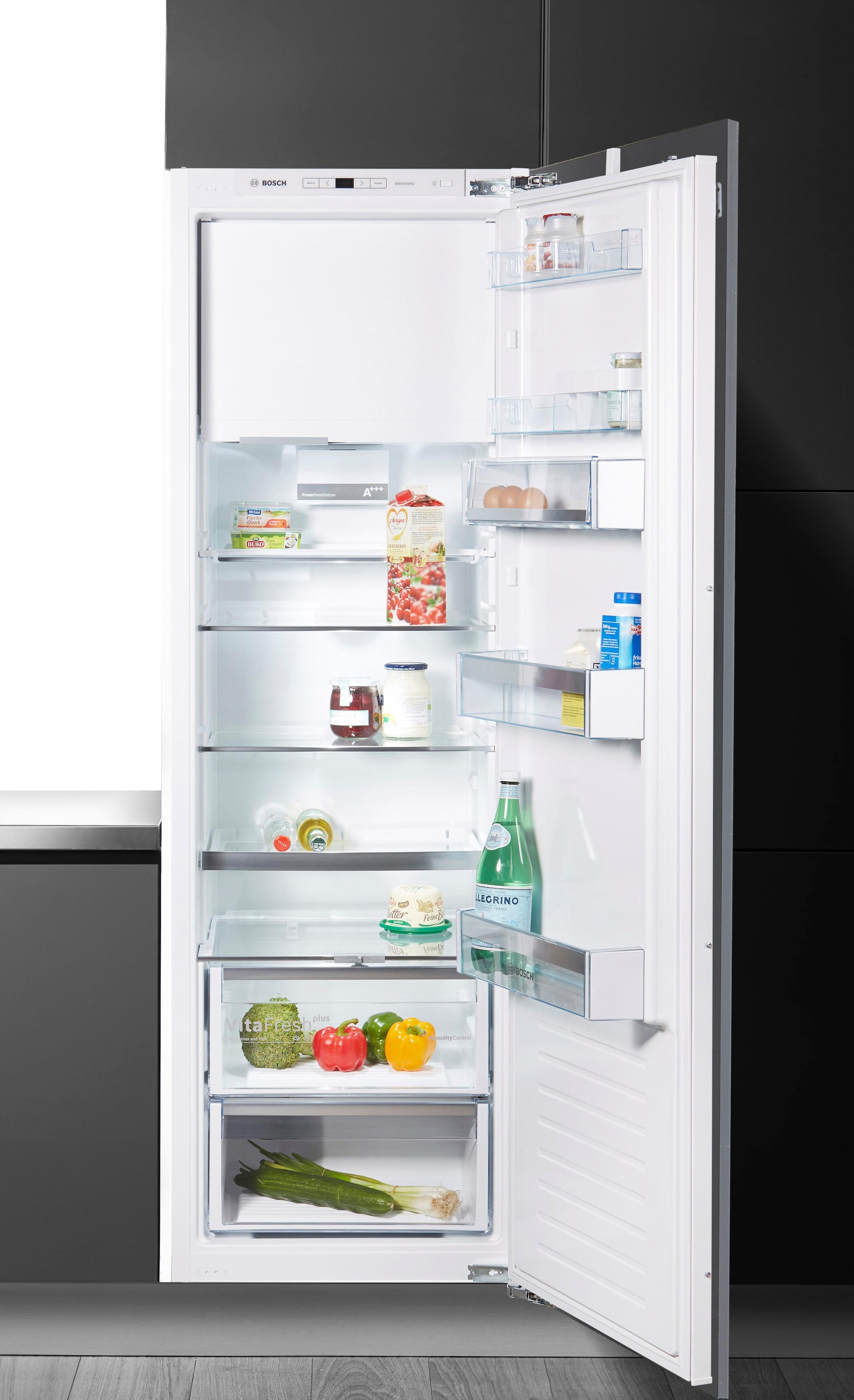 Bosch Kühlschrank Vitafresh Bedienungsanleitung : Bosch vollintegrierbar einbau kühlschrank kil ad cm hoch