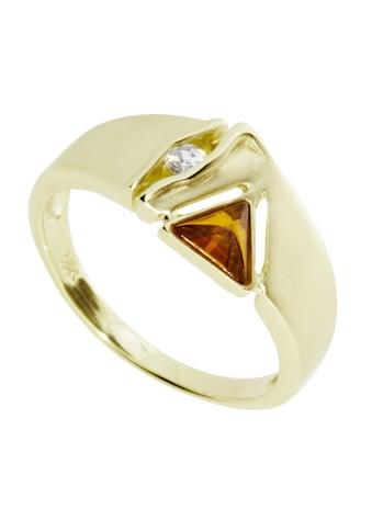OSTSEE - SCHMUCK Fingerring »Benita Gold 585/000 Bernstein« kaufen