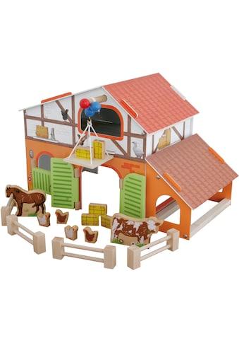 roba® Spielwelt »Farm«, aus Holz kaufen