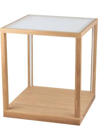 SPOT Light LED Tischleuchte »TAVOLI GLASS«, LED-Modul, Warmweiß, LED Beistelltisch,... kaufen