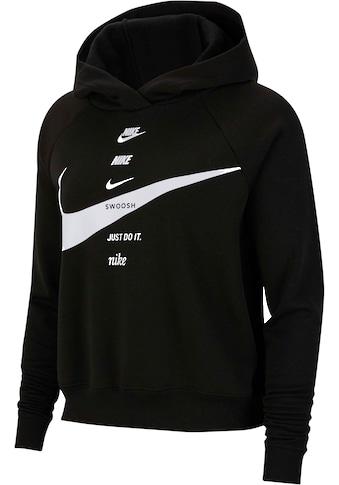 Nike Sportswear Kapuzensweatshirt »WOMEN SWOOSH HOODIE FLEECE PLUS SIZE« kaufen