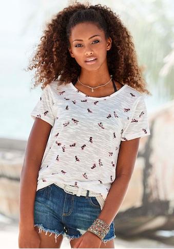 Vivance T-Shirt, mit schönem Kolibri-Druck kaufen