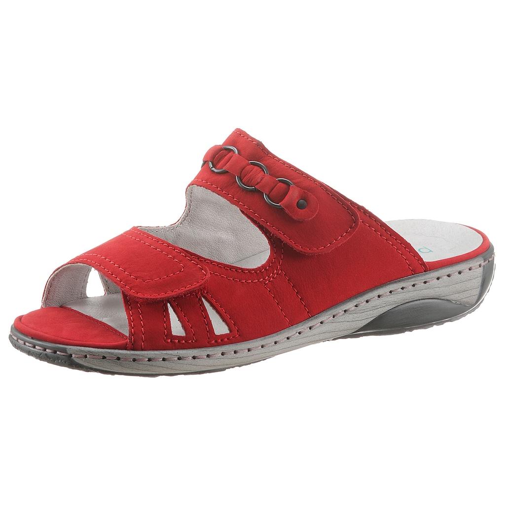 Waldläufer Pantolette »GERDA«, in komfortabler Schuhweite G (=weit)