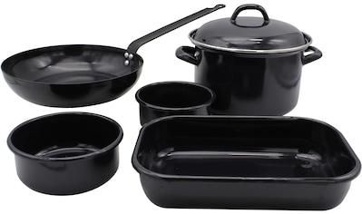 Krüger Topf - Set »Black« (Set, 6 - tlg.) kaufen