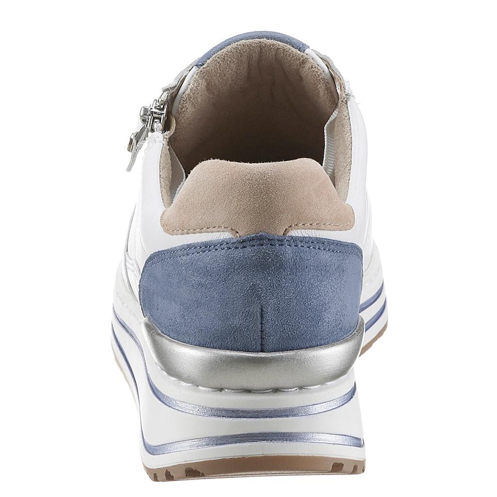 Ara Sneaker, mit Farbakzenten, G-Weite