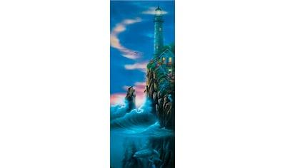 Papermoon Fototapete »Guiding Light - Türtapete«, matt, Vlies, 2 Bahnen, 90 x 200 cm kaufen