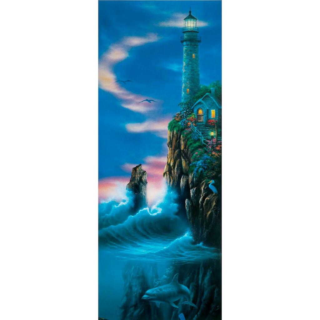 Papermoon Fototapete »Guiding Light - Türtapete«, matt, Vlies, 2 Bahnen, 90 x 200 cm