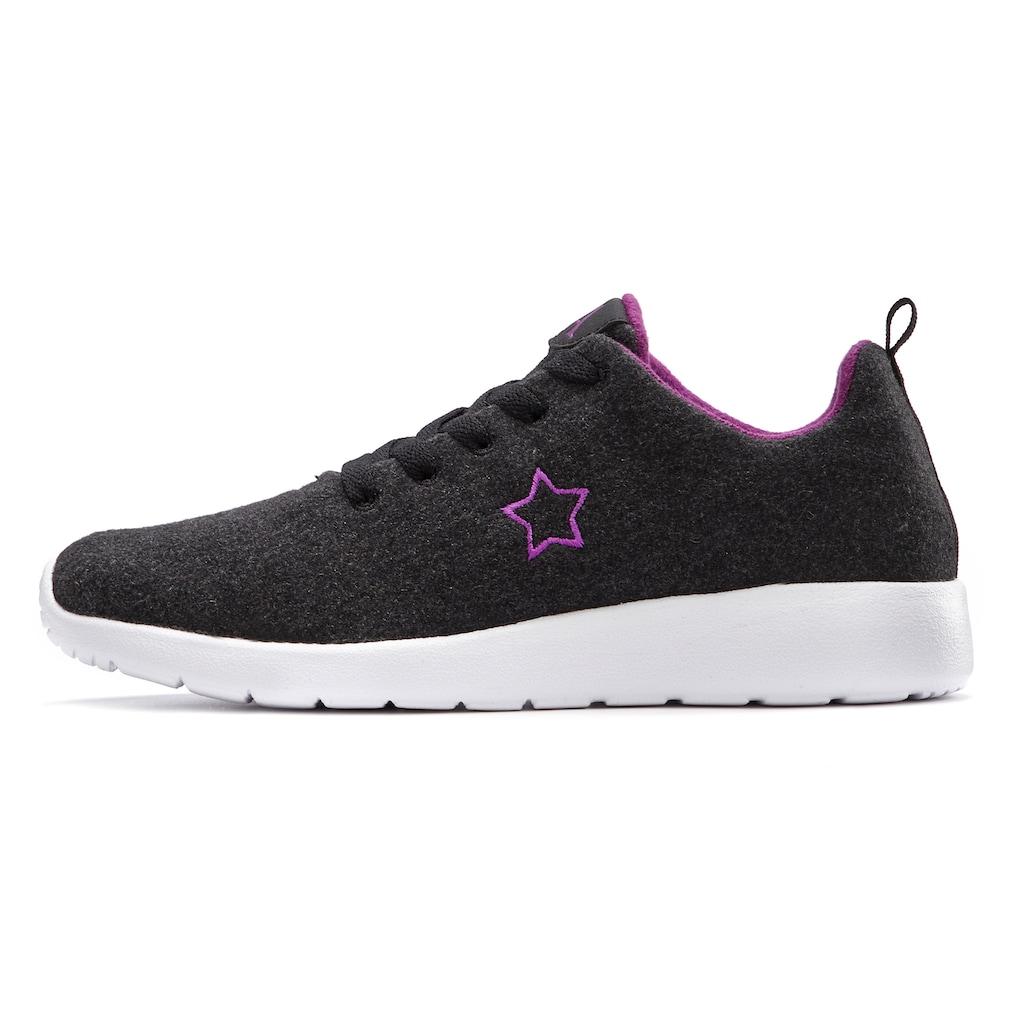 LASCANA Sneaker, aus kuscheligem Woll-Mix