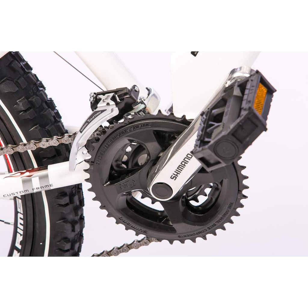 Tretwerk Mountainbike »Vole 2.0«, 24 Gang, Shimano, Acera Schaltwerk, Kettenschaltung