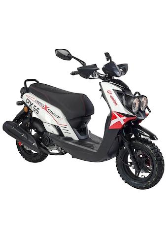 GT UNION Motorroller »PX 55 Cross-Concept«, 50 cm³, 45 km/h, Euro 5, 3 PS kaufen
