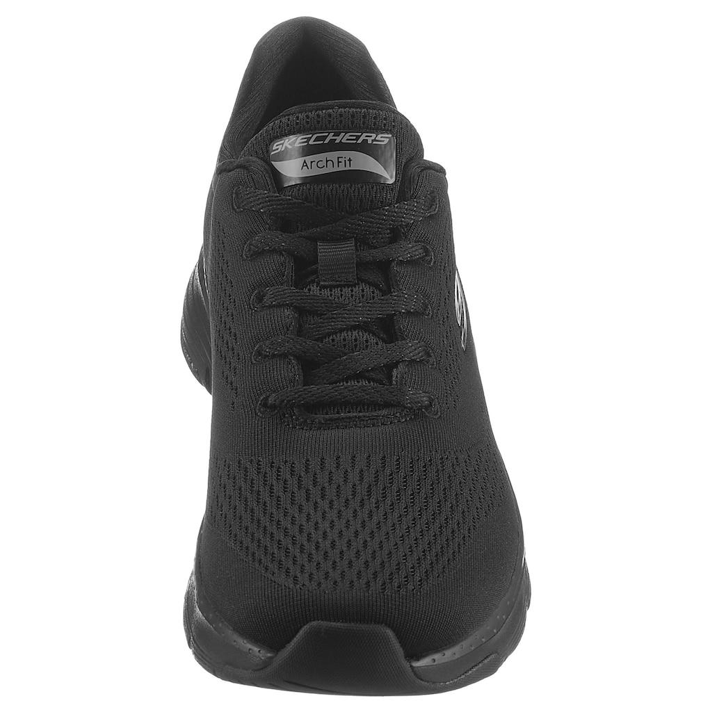 Skechers Sneaker »ARCH FIT«, mit seitlichem Logo-Emblem