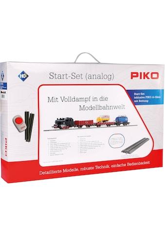 PIKO Modelleisenbahn Startpaket »Güterzug mit Bettung, (57113)« kaufen