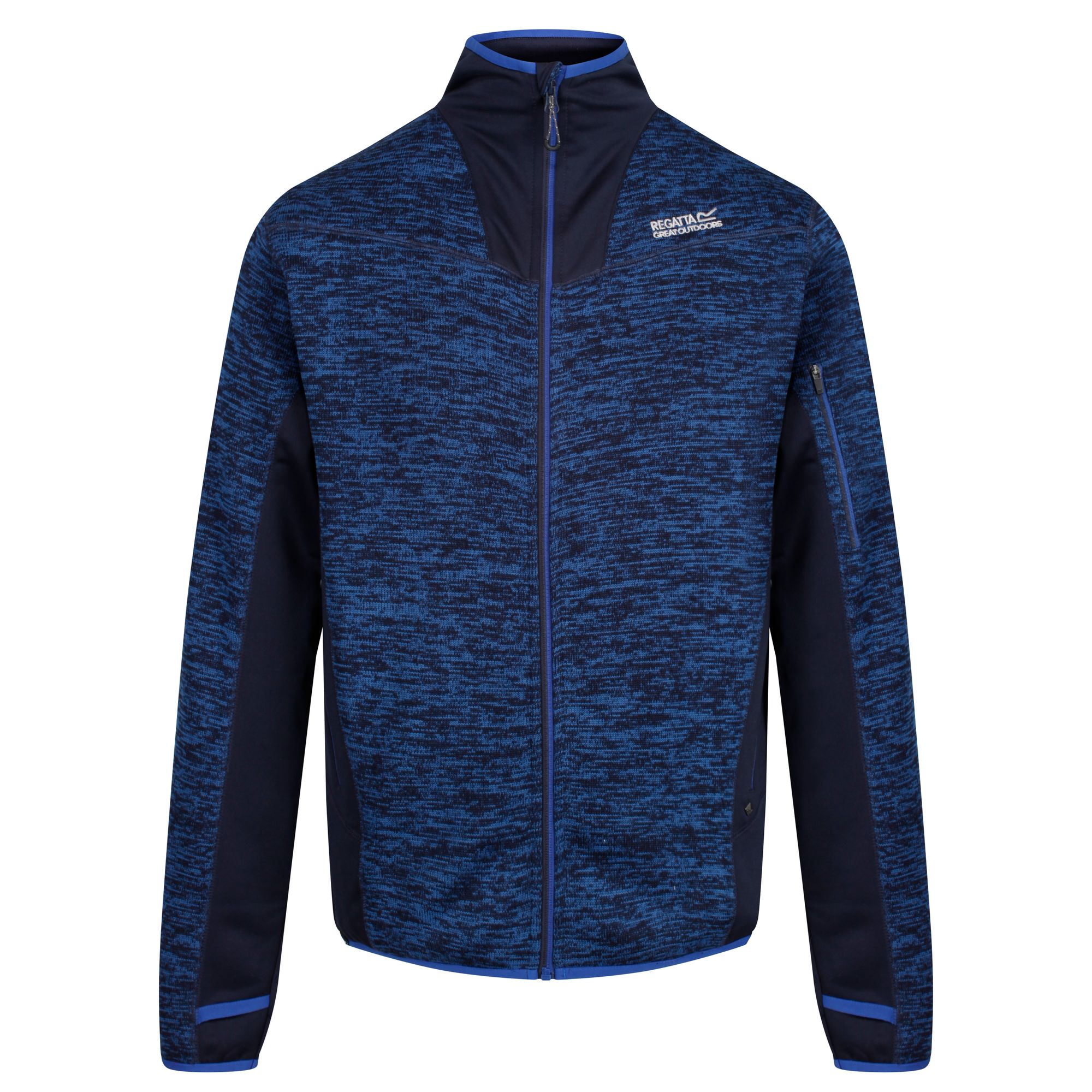 Regatta Outdoorjacke Heren Jacke Collumbus V   Sportbekleidung > Sportjacken   Blau   Polyester - Fleece   Regatta