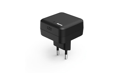 Hama Ladegerät, USB Type - C - Port, Power Delivery (PD), 3A,Schwarz »USB - Ladeadapter« kaufen