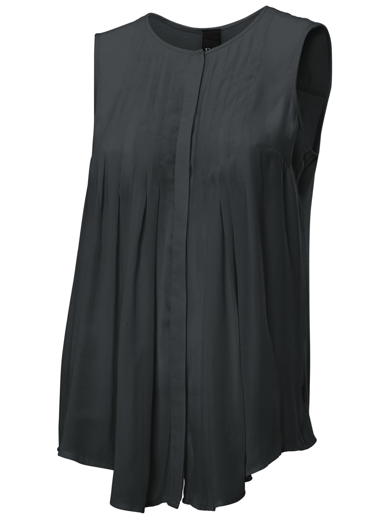 heine CASUAL Shirtbluse mit Materialmix