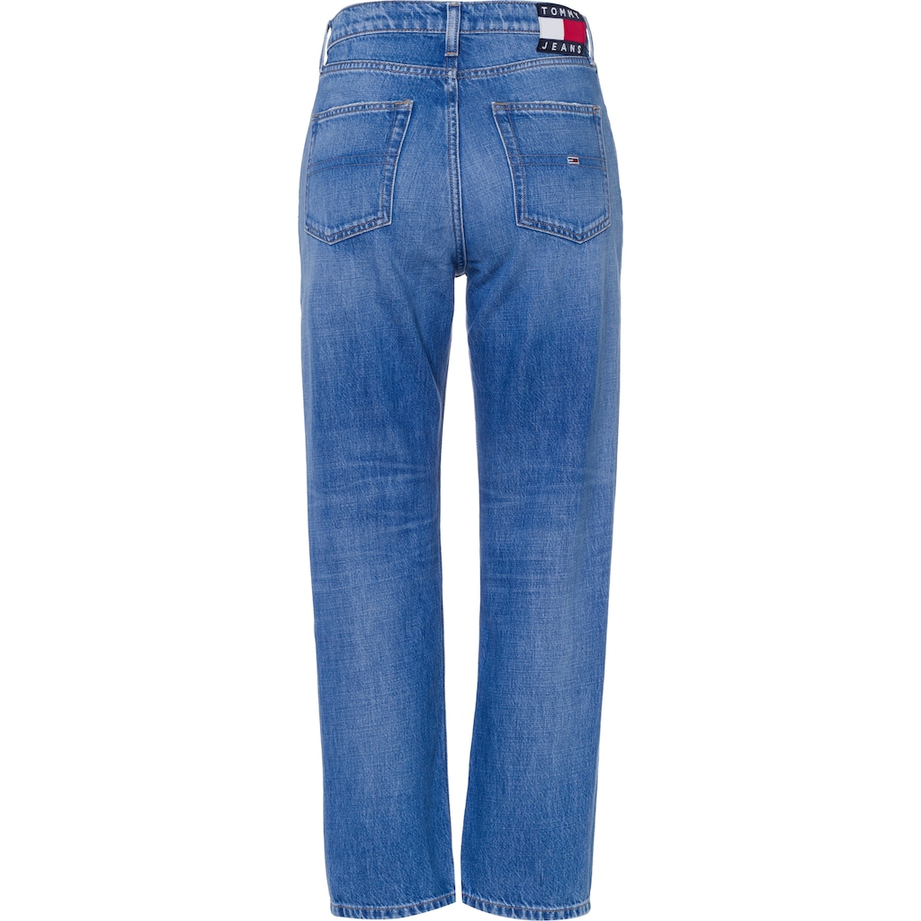 Tommy Jeans Straight-Jeans »HARPER HR STRGHT ANKLE CBGRR«, mit Tommy Jeans Logo-Badge