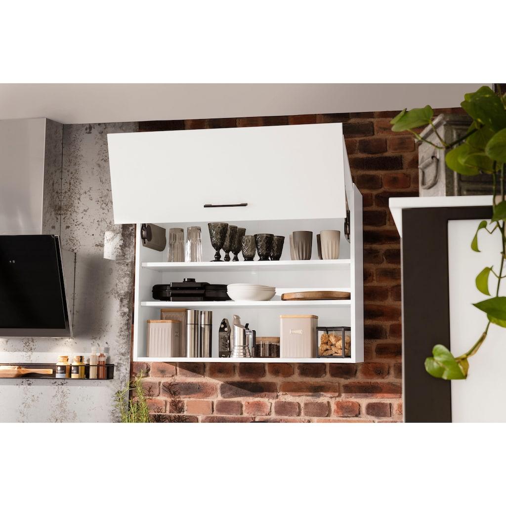 OPTIFIT Küchenzeile »Tokio«, ohne E-Geräte, Breite 224 cm, mit Stahlgestell, mit Vollauszügen