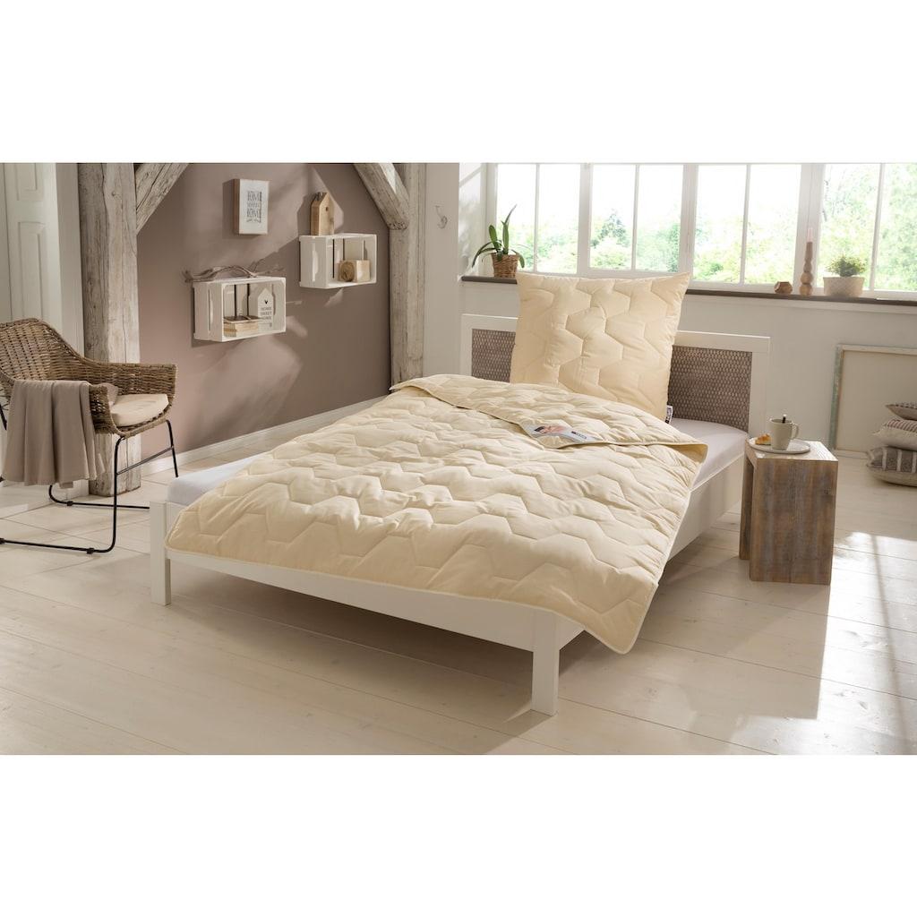 my home Kunstfaserkopfkissen »Baumwolle 60 °C«, (1 St.), langanhaltender Stützkomfort